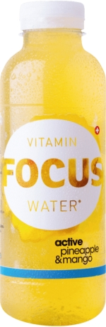 Focus Water Ananas Active PET