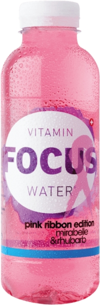 Focus Water Mirabelle pink ribbon edition PET