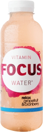 Focus Water Grapefruit Relax PET