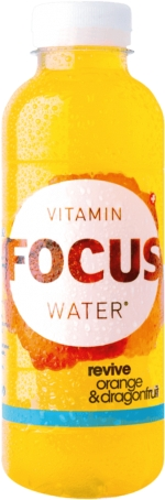 Focus Water Orange Revive PET